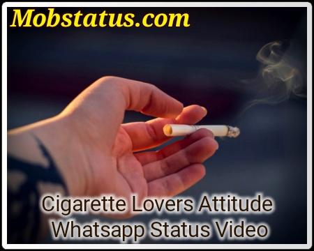 Cigarette Lovers Attitude Whatsapp Status Video