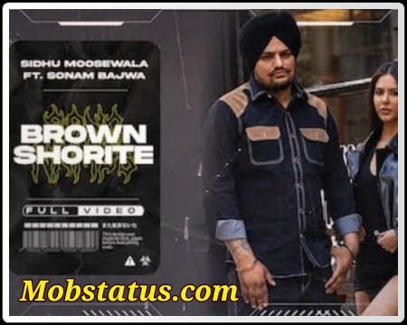 Brown Shortie Sidhu Moose Wala Status Video