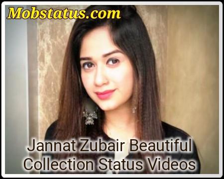Jannat Zubair Best Collection Status Video