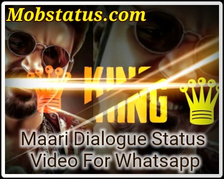 Maari Dialogue Status Video For Whatsapp