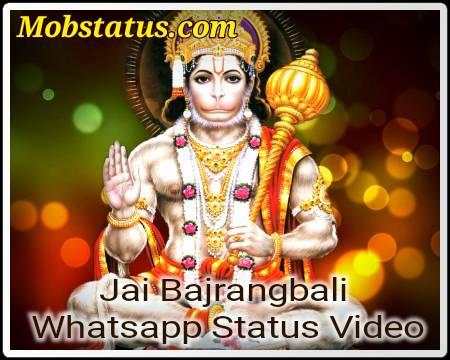 Jai Bajrangbali Latest Whatsapp Status Video