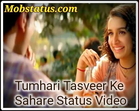 Tumhari Tasveer Ke Sahare Status Video