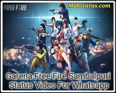 Garena Free Fire Sambalpuri Status Video For Whatsapp