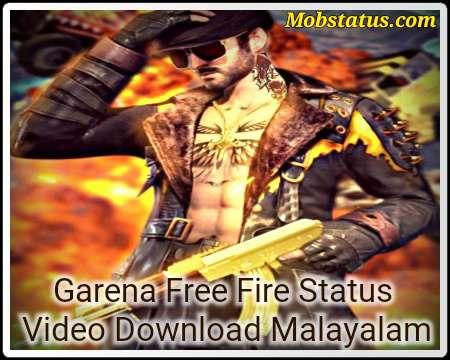 NEW Garena Free Fire Status Video Download Malayalam