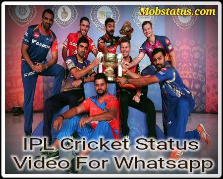 IPL Cricket Status Video For Whatsapp