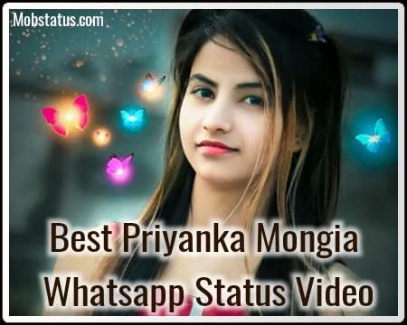 Best Priyanka Mongia Whatsapp Status Video