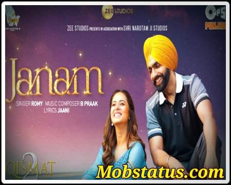 Janam Ammy Virk Latest Song 2021 Status Video