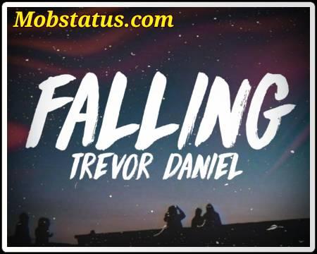 Trevor Daniel Falling Song Status Video