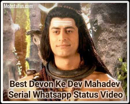 Best Devon Ke Dev Mahadev Serial Whatsapp Status Video